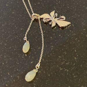 Swarovski classic swan necklace